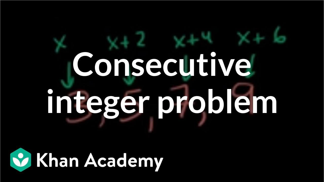Sums of consecutive integers (video) | Khan Academy