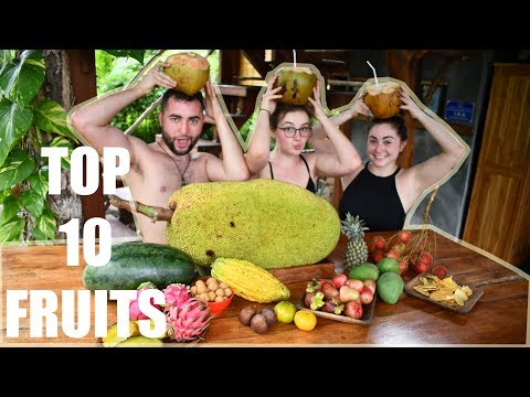 Crazy Exotic Fruit Mukbang 먹방 • Exploring Bali Markets