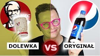 DOLEWKA Z KFC vs. ORYGINALNE NAPOJE - ROZWODNIONE?!