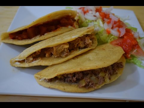 Mexican Food: Fried Quesadilla, Street Food