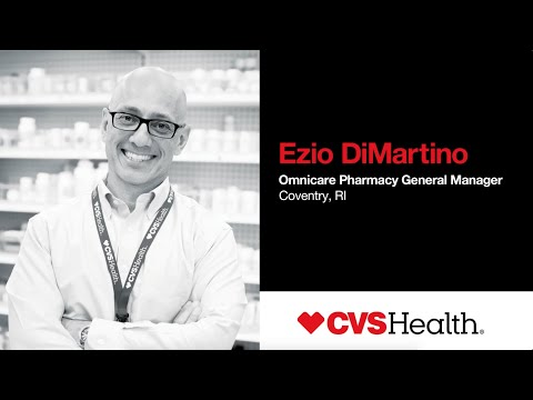 Ezio DiMartino, Omnicare Pharmacy General Manager- 2018 Paragon Award Recipient