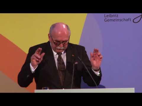 """Jahrestagung der Leibniz-Gemeinschaft 2017 - Matthias Kleiner (""""Schließlich"""")"""