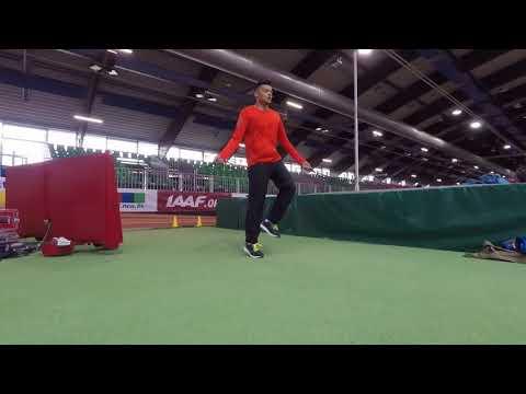 Düsseldorf IAAF World Tour | COMP VLOG