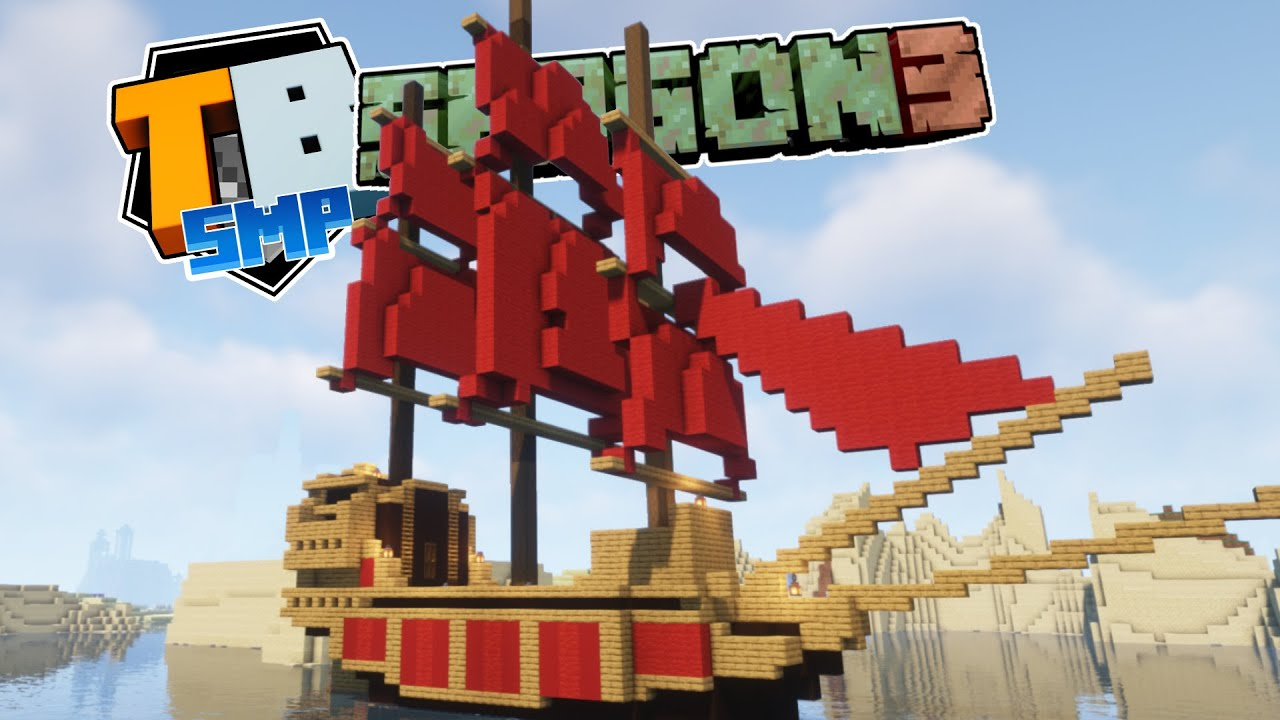 Epic Warship! - Truly Bedrock season 3 - minecraft 1.17 letsplay episode 12