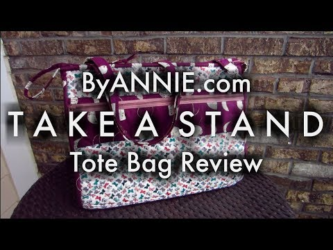 ByAnnie.com Take A Stand Tote Bag Pattern Review