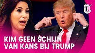 'Kim gaat bij Trump ene oor in en andere uit'