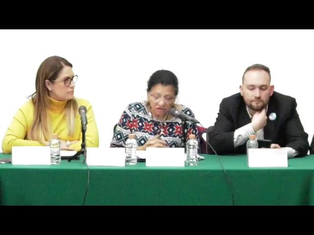 Discurso de la Presidenta de CDHCM en Firma de Convenio con el Congreso CDMX