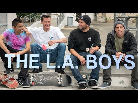 The L.A. Boys - Official Trailer [HD] - Guy Mariano, Rudy Johnson, Gabriel Rodriguez, Paulo Diaz