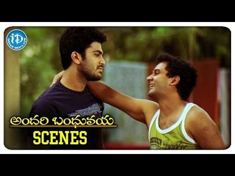 andari-bandhuvaya-movie-scenes-|-sharwanand-is-jailed-for-stopping-violence-|-padma-priya