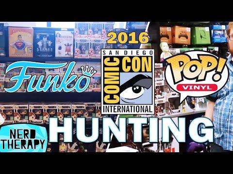 SDCC 2016 Funko Pop Hunting