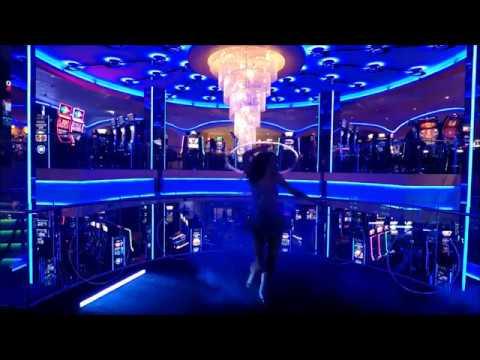 Jelena Znaor LED hoop - Grand Casino Admiral, Zagreb