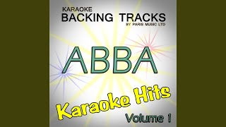 Chiquitita (Originally Performed By Abba) (Karaoke Version)
