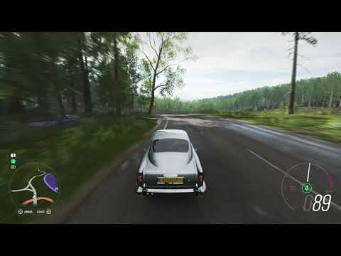 Forza Horizon 4 - 1964 James Bond Edition Aston Martin DBS (All Camera Inside Views) Gameplay (2018)