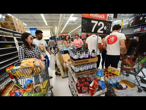 Florida residents prepare for Hurricane Dorian as storm strengthens