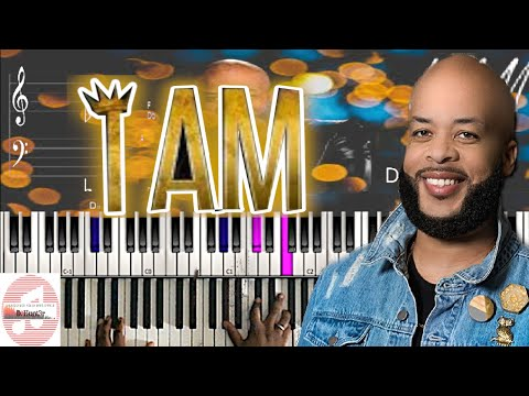 *Easy* James Fortune  - I Am 🎹 Tutorial thumbnail