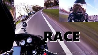 race cbr600 vs mercedes e350 cdi 261hp 620nm