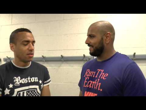 TYAN BOOTH TALKS TO THE UK'S NUMBER 1 BRITISH PAKISTANI HEAVYWEIGHT KASH ALI - POST FIGHT INTERVIEW