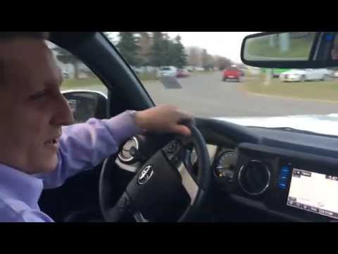 2016 Double Cab Toyota Tacoma 6 speed manual transmission Test drive and review, First Drive