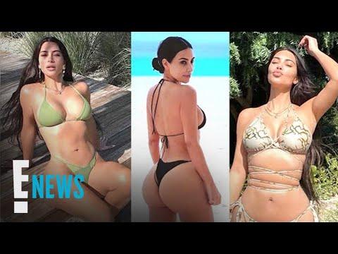 Kim Kardashian Is Living Her Best Life With Endless Bikini Summer