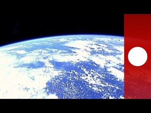 Picture of planet earth from space