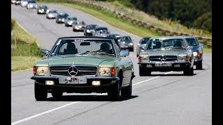 Rally Mercedes-Benz clásicos - Experiencia - Matías Antico - TN Autos