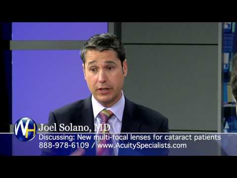Treating Cataracts with Joel Solano, MD of Palm Desert's Acuity Eye Specialists