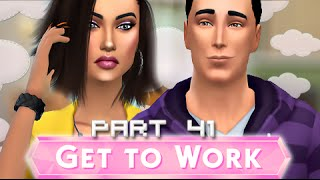 The Sims 4 | Get To Work | Part 41 - Fighting Love.