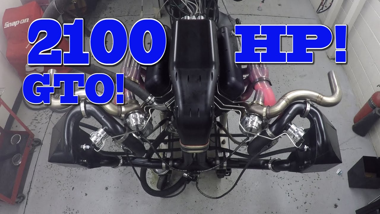 Check Out This 2,100 Horsepower Twin-Turbo Monster