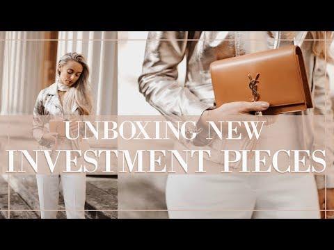 LUXURY SPRING INVESTMENT PIECES UNBOXING // Prada, Valentino, Saint Laurent   |   Fashion  Mumblr