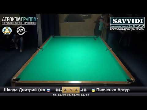 Savvidi 2019 - Стол №13 - Шкода Дмитрий (мл) - Пивченко Артур