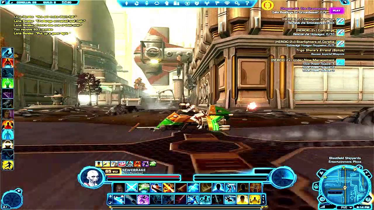 Swtor Best Dps Class 2020 Pve SWTOR   Watchman Sentinel   Extreme DPS Build   YouTube
