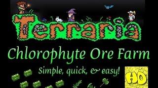 Terraria v1.2.4 Easy Chlorophyte Ore Farm