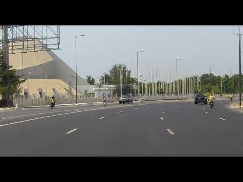 Ideally equal road Or what is it Avenue de la Marina, Cotonou, Benin