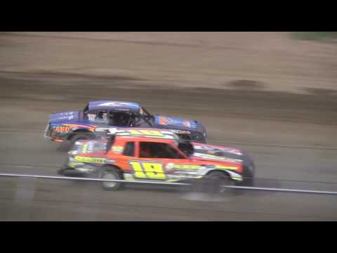 IMCA Stock Car feature Independence Motor Speedway 6/10/17