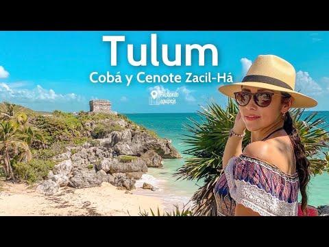 Recorriendo las zonas arqueológicas de Tulum, Cobá y Cenote Zacil-Há