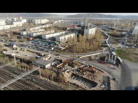 Строительство трёхуровневой развязки на 974 километре трассы М-5 «Урал»  г.Тольятти / Samara Region
