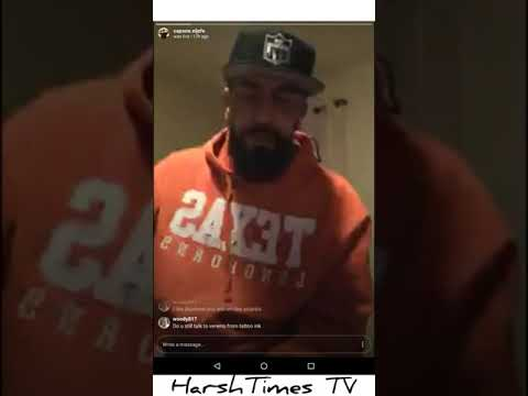 Capone from Raza 4 Life speaking on certain things.