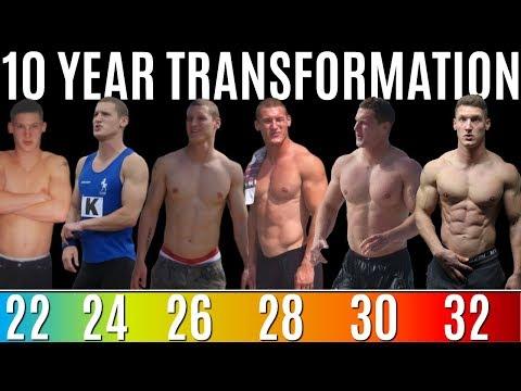 10 YEAR NATURAL BODY TRANSFORMATION
