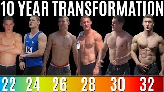 10 YEAR NATURAL BODY TRANSFORMATION