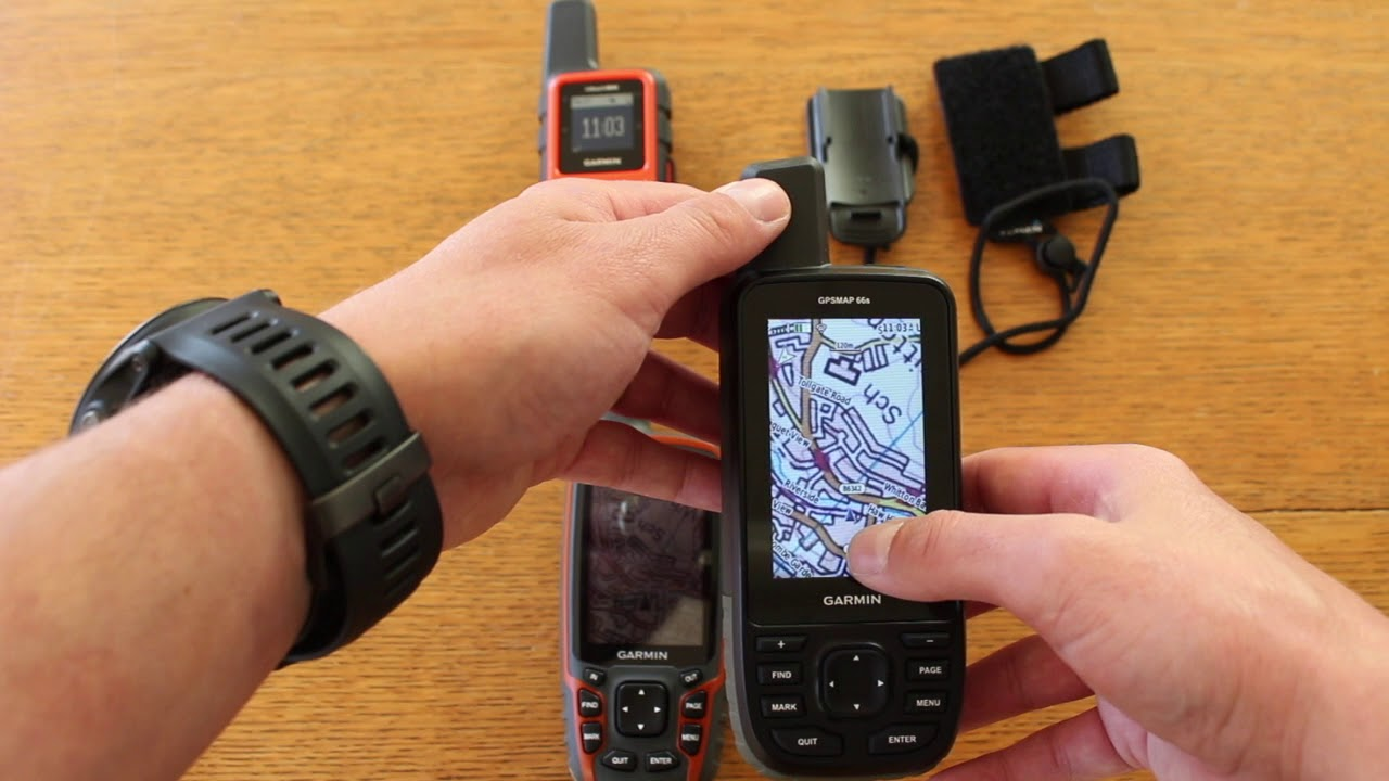 Garmin GPSMap66st - With Birdseye Voucher to download 25000 sq km of