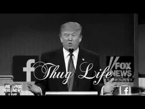 Trump Thug Life - GOP Debate 2015 FUNNY