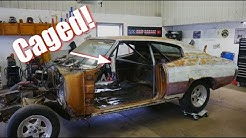 Abandoned Chevelle gets a roll/Harness Bar - Vice Grip Garage EP74