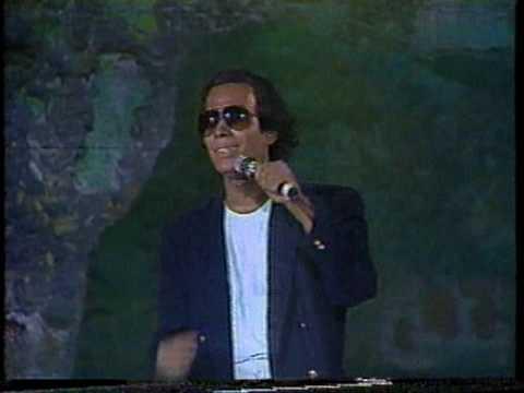 Julio Zabala imita a Julio Iglesias -QUE NO SE ROMPA LA NOCHE-, 1991..VOB