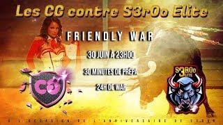🔴 Coyote Girls Vs S3r0o Elite   Spécial Anniversaire S3r0o    Clash Of Clans