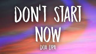 Download Dua Lipa - Don't Start Now (Lyrics)