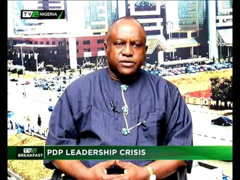PDP LEADERSHIP CRISIS - TVC BREAKFAST SHOW