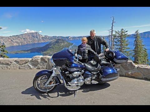 Oregon Motorcycle Ride: Klamath Falls To Crater Lake