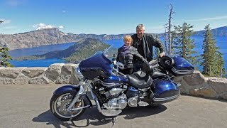 Oregon Motorcycle Ride: Klamath Falls to Crater Lake