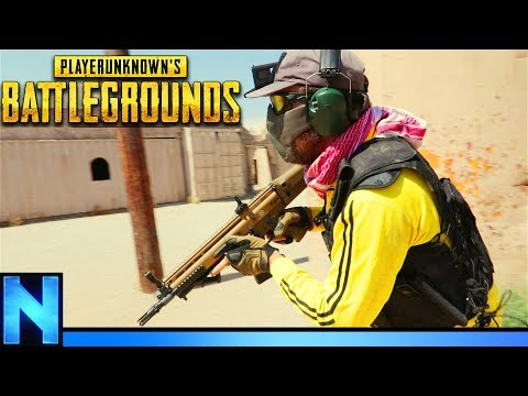 Close Range Combat Between 4 Squads - PUBG AIRSOFT
