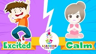 Opposites for Kids | Learning Time Fun | Videos for Kids | Opposite Words | Antonyms | Opposites